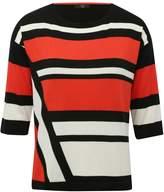M&Co Petite block stripe jumper