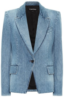 Tom Ford Single-breasted denim blazer
