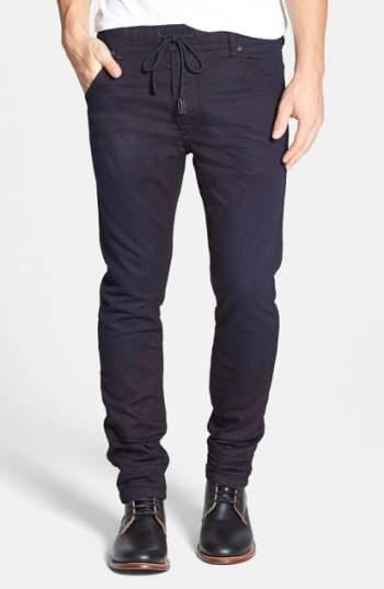 Diesel R) Krooley Jogg Slouchy Skinny Fit Jeans