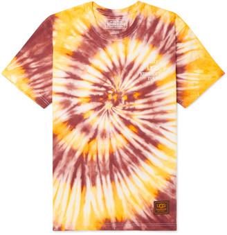Neighborhood + Ugg Tie-Dye Cotton-Jersey T-Shirt