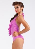 Nicolita Swimwear - Rumba Ruffles Pink One Piece Swimsuit