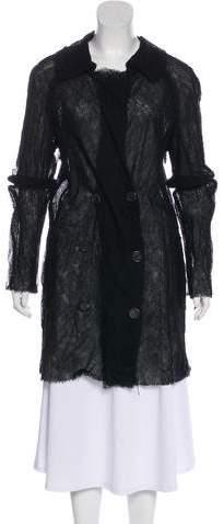 Lanvin Wool and Silk Coat