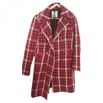 Pinko Red Coat for Women