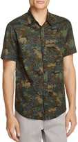 Blank NYC BLANKNYC Floral Print Linen Slim Fit Button-Down Shirt