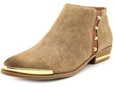 Fergie Indigo Pointed Toe Suede Ankle Boot.