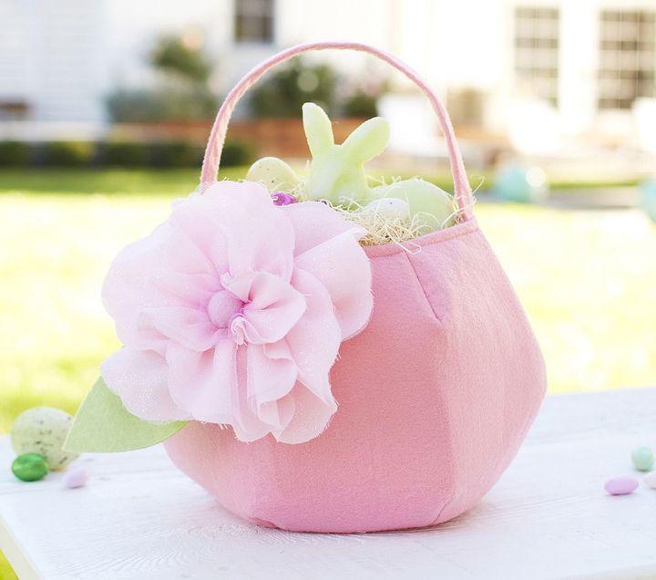 Pottery Barn Kids Spring Flower Treat Bag