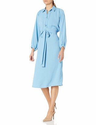 Maisalo Women's Viva Wrap top A-line Midi Dress