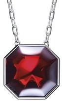 Baccarat Lillustre Silver Crystal Necklace.
