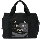 Charlotte Olympia Cat gym bag