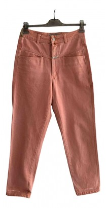 Closed Pink Denim - Jeans Trousers for Women