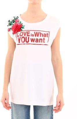 Dolce & Gabbana T-shirt With Flower