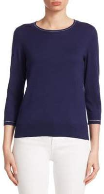 Saks Fifth Avenue COLLECTION Classic Crewneck Pullover