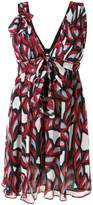 Pinko abstract patterned dress