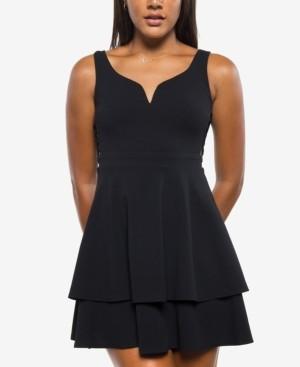 B. Darlin Juniors' A-Line Dress