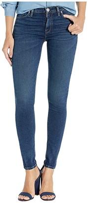 Hudson Nico Mid-Rise Super Skinny in Interlude (Interlude) Women's Jeans