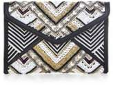 Rebecca Minkoff Beaded Wonder Leo Clutch
