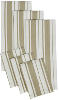 Herringbone Stripe Dish Towel and Dish Cloth Set (6 PC)