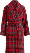 Ralph Lauren Plaid Cotton Twill Robe