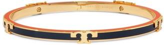 Tory Burch Serif-T Enameled Stackable Bracelet