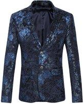 Cloudstyle Mens Blazer Suit Jacket Cardigan Jacket Male Wedding Suits