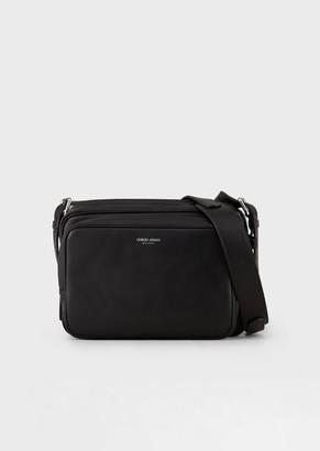Giorgio Armani Tumbled Nappa Leather Bag