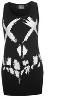 Character Womens S Squad Top Print Casual Sleeveless Round Neck Vest