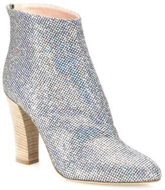Sarah Jessica Parker Minnie Glitter Ankle Boots