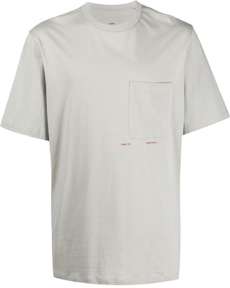 Oamc chest-pocket fitted T-shirt