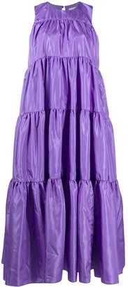 Loulou Tiered Maxi Dress