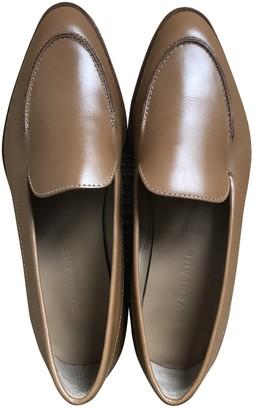 Everlane Beige Leather Flats