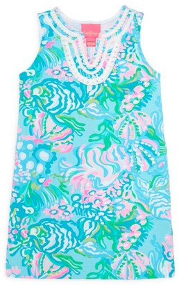 Lilly Pulitzer Little Girl's & Girl's Harper Floral Shift Dress