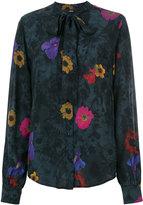 Diesel floral-print shirt - women - Viscose - XS