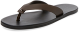 Lanvin Men's Leather Flip Flops