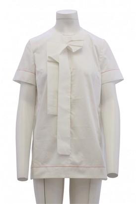 Roksanda White Cotton Top for Women