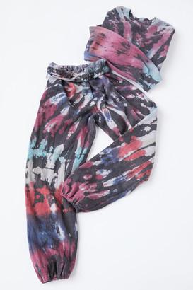 Urban Renewal Vintage Recycled Rainbow Crackle Tie-Dye Sweatpant