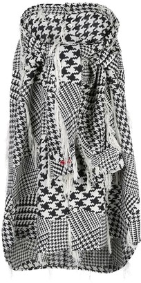 Haculla Houndstooth Woven Blouse