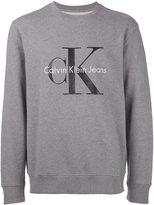 Calvin Klein Jeans logo print crew neck sweatshirt