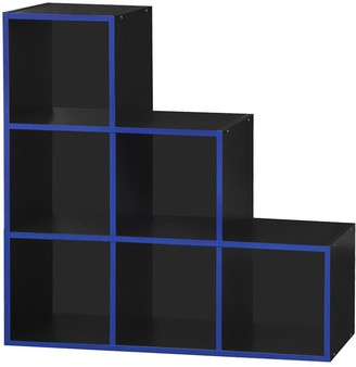 Lloyd Pascal Virtuoso 6 Cube Step Storage with Blue Edging