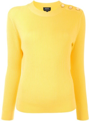 A.P.C. Paola buttoned jumper