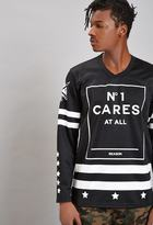 Forever 21 FOREVER 21+ Reason N° 1 Cares Hockey Jersey