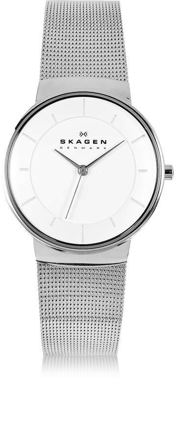 Skagen Nicoline Stainless Steel Mesh Women's Watch