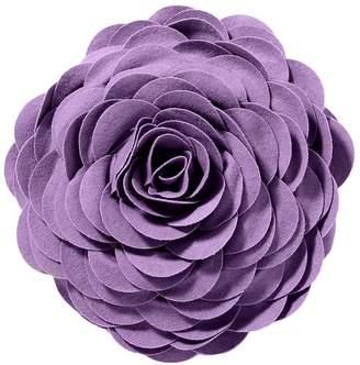Pottery Barn Teen Flora Felt Pillow, Lavender