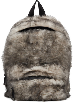 Vetements White Lambskin Backpack