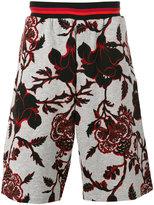 McQ by Alexander McQueen printed shorts - men - Cotton - L