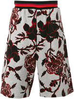 McQ by Alexander McQueen printed shorts - men - Cotton - M