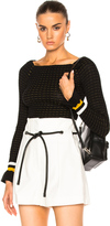 3.1 Phillip Lim Long Sleeve Off Shoulder Pullover