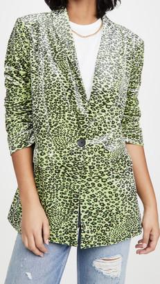 Endless Rose Leopard Print Blazer
