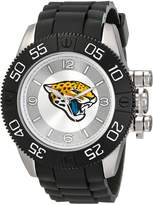 Game Time Men's NFL-BEA-JAC Beast Round Analog Watch