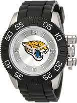 Game Time Men's NFL-BEA-JAC Beast Round Analog Watch