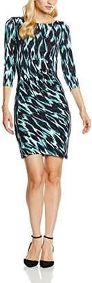 Great Plains Women's Jungle Ikat Pencil 3/4 Sleeve Dress,14 (Manufacturer Size:)